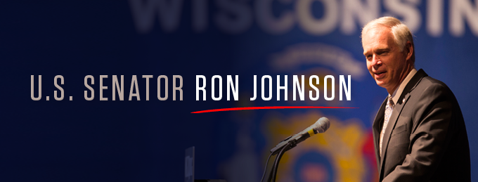 Image result for PHOTOS OF Sen. Ron Johnson