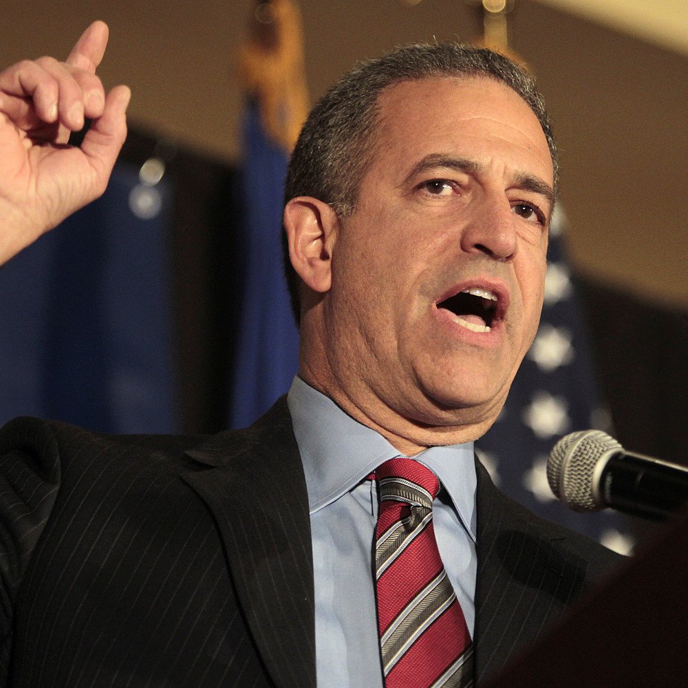 FILE - In this Nov. 2, 2010 file photo, then-Sen. Russ Feingold, D-Wis., makes his concession speech to his supporters in Middleton, Wis., after losing to Republican challenger Ron Johnson for the Wisconsin U.S. Senate seat. Feingold announced Thursday he will run to reclaim the U.S. Senate seat he lost five years ago to Republican Ron Johnson, fulfilling the hopes of Democrats who have been pushing for the liberal to return to the political arena.  (AP Photo/Joe Koshollek, File)